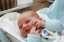 ERIK ŘEŘICHA. Chlapeček se narodil 13. listopadu. Měřil rovných 50 centimetrů a vážil 3,4 kilogramu. Tatínek přivítal svého syna na porodním sále.  S rodiči bude doma v Moravské Třebové.