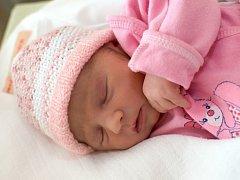 SABINA NAJMANOVÁ. Narodila se 16. září Michaele Šprtkové a Janu Najmanovi z Chrastové Lhoty. Měřila 46 centimetrů  a vážila 2,45 kilogramu.