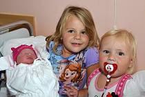 ANETA MATUŠKOVÁ. Narodila se 4. září Aleně a Michalovi z Litomyšle. Měřila 49 centimetrů a vážila 3,1 kilogramu. Má sestry Alenku a Terezku.