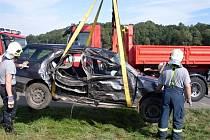 Vedle silnic přibylo několik křížků po smrtelných nehodách. Lidský život vyhasl také při nehodě u Morašic