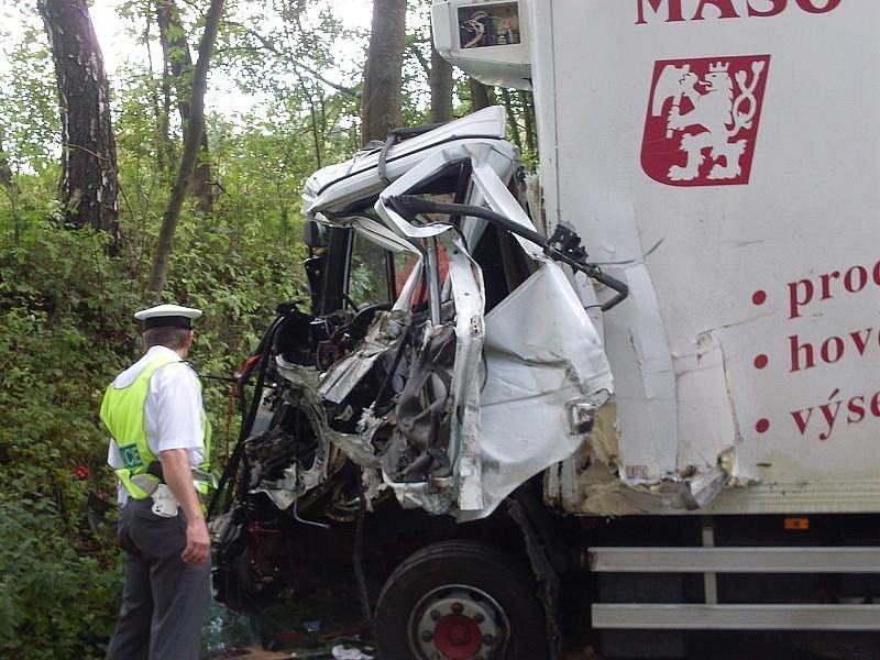 Nehoda v Jedlové 2009.