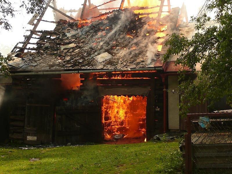 Požár Velké Tresné 2009.