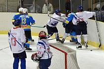 Přes osm inkasovaných gólů byl velkou oporou České Třebové brankář Kaplan, který litomyšlským hokejistům zneškodnil celou řadu velkých střeleckých příležitostí.