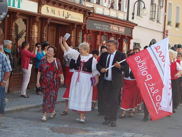 Z oslav 750 let města Polička.