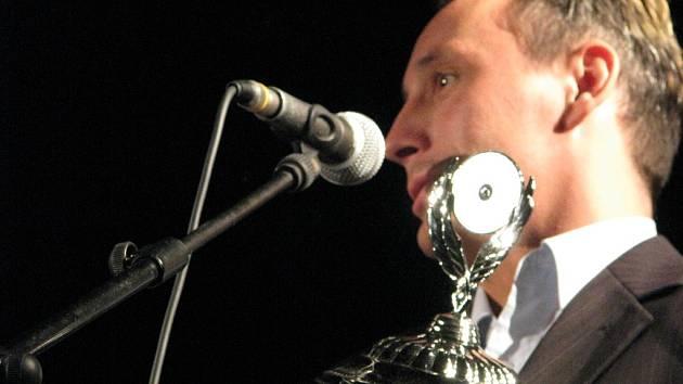 Z vyhlašování sportovce roku 2009. Vítěz ankety Petr Bartoš.