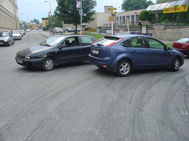 Řidič nedal přednost v jízdě.