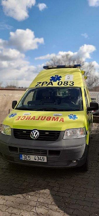 Vyřazené sanity poslouží na Ukrajině a využijí je i dobrovolní hasiči na Svitavsku.