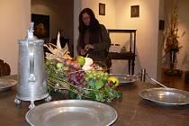 Výstava květinový podzim v zámeckých interiérech