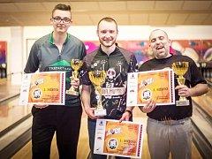 Kamkoli přijel, tam byl třetí. Denis Kinc (na fotografii je nalevo) letos sbírá cenné trofeje.