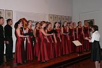 Koncert sboru Iuventus v Argentině.