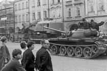 Situace v Litomyšli v srpnu 1968