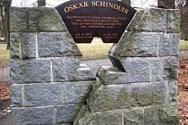 Schindlerův pomník  ve Svitavách
