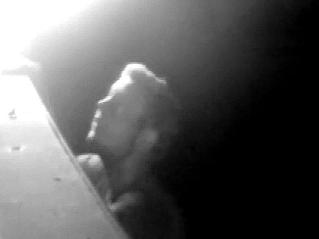 Zloděje z Litomyšle zachytily bezpečnostní kamery.