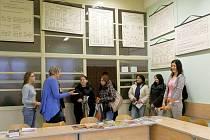 Den otevřených dveří na svitavské obchodní akademii.