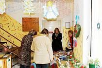 Vánoční výstava ve Vranové Lhotě.