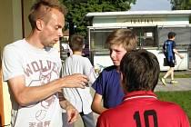 Žáci měli ojedinělou možnost zatrénovat si s ligovým hráčem