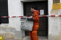 Nález nebezpečného kufříku v Udánkách v Moravské Třebové.