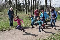 Lesní běh Černou horou.