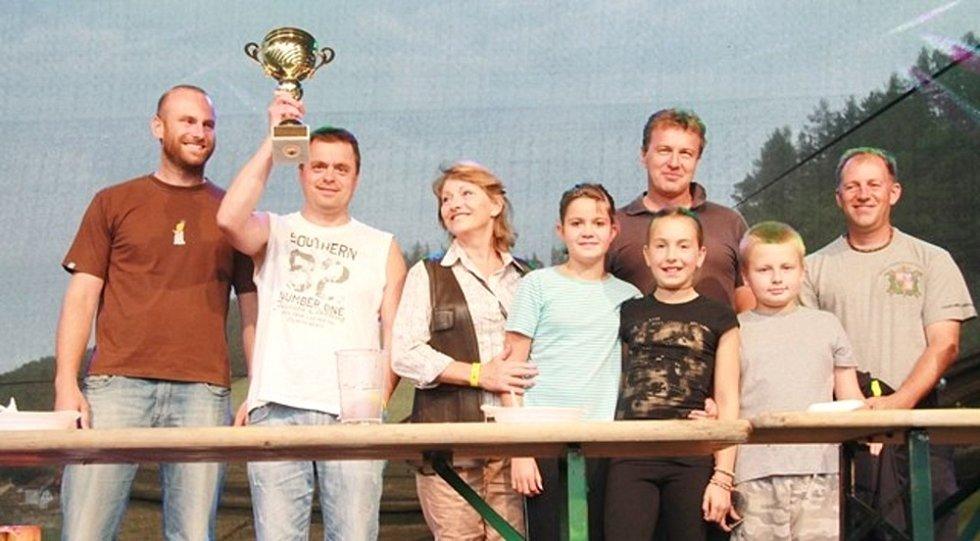 SOUTĚŽ o největšího jedlíka na Slavnostech těstovin v Boršově vyhrál Jaroslav Němec.