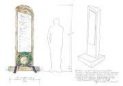 Návrh pomníku padlým v první světové válce