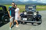 Flídrovi z Litomyšle jedou s Chevroletem z roku 1932 Mezinárodní soutěž spolehlivosti Československem 1921–2021.