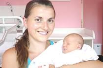 VALÉRIE MAKASOVÁ. Slečna přišla na svět 8. července ve 2.35 hodin v litomyšlské porodnici. Vážila 3,2 kilogramu a měřila 53 centimetrů. S rodiči Šárkou a Janem a šestiletou sestřičkou Sárou bude bydlet v Litomyšli.