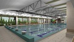 Svitavská radnice představila na veřejném setkání podobu nového bazénu na vizualizacích.