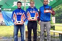 JAKMILE SE sečetly výsledky ze čtyř závodů, bylo jasné, že největší všestrannost prokázala dvojice reprezentantů Poličky.