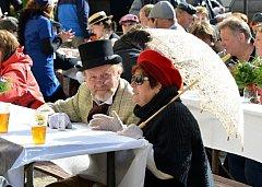 PATNÁCTINY oslavil v sobotu Biskupické kaléšek.