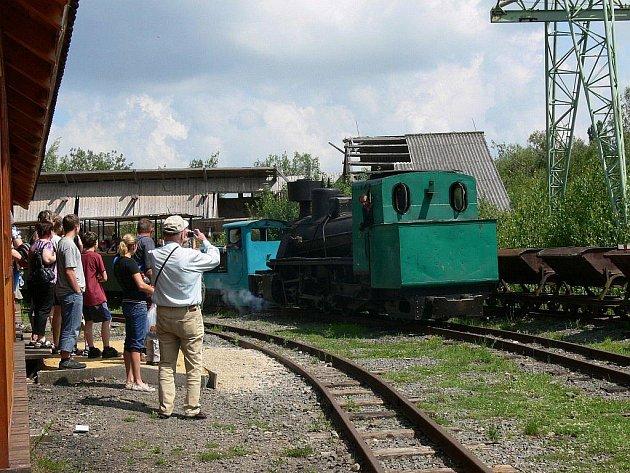 V Mladějově na Moravě oslavili významné jubileum úzkorozchodné dráhy.