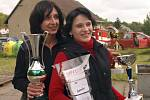 Liga v požárním útoku v Sádku, mezi ženami zvítězily hasičky z Bohuňova