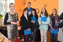 S prostory se seznámili mimo jiné i studenti Střední zdravotnické školy ve Svitavách. Provedla je vedoucí střediska Jaroslava Šabrňáková.