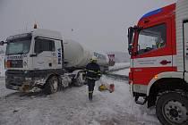 Havárie cisterny u Koclířova
