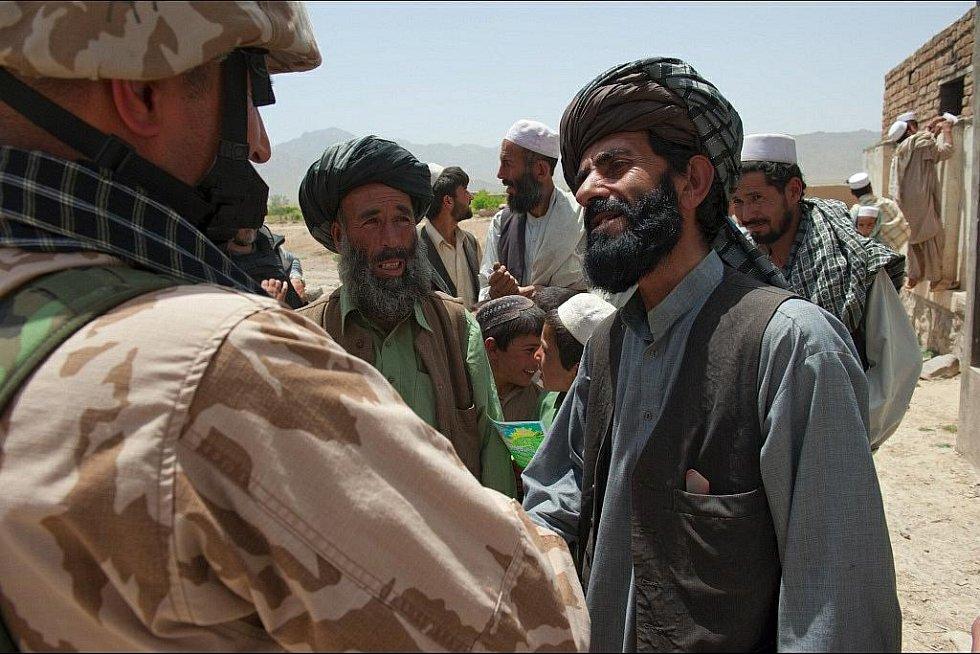 Vojenská mise v Afghánistánu pohledem Daniela Hlaváče.