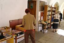 Výprodej knih v Litomyšli