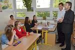 Vysvědčení na Speciální základní škole v Litomyšli.