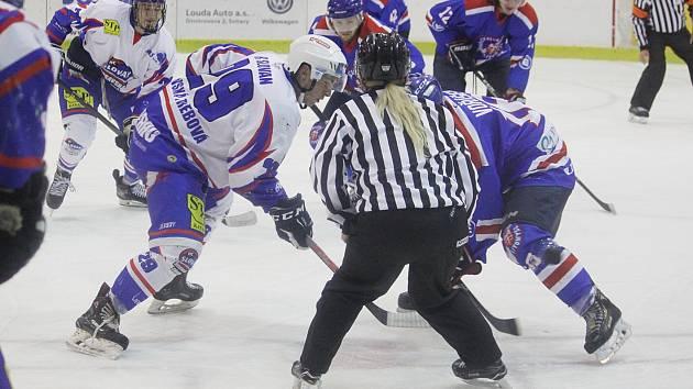 HC Slovan Moravská Třebová vs. HC Litomyšl.