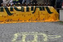 Pivní triatlon v Nasavrkách.