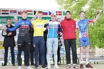 TOP 5 43. ročníku: zleva druhý Frederik Björn Sörensen, vítězný Henrik Pedersen, bronzový slovenský reprezentant Martin Svrček, čtvrtý další z Dánů Kristian Egholm a pátý Štěpán Telecký.