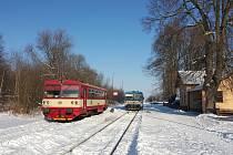 Vlaky v Mladějově stály, nehodu vyšetřuje drážní inspekce