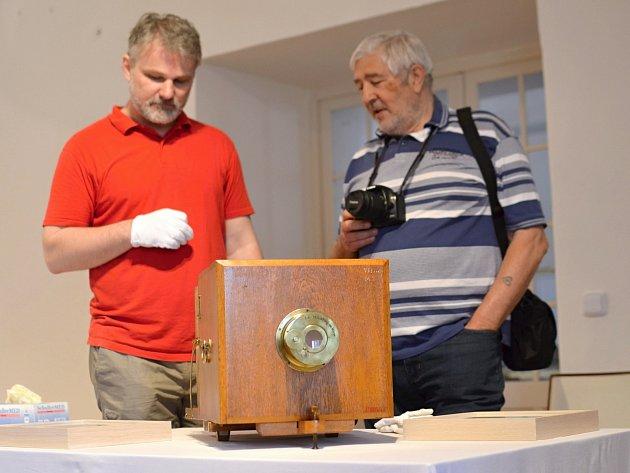 Nejstarší fotoaparát na území české republiky.