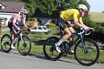 Jevíčské etapy přinesly úspěch zahraničním cyklistům.