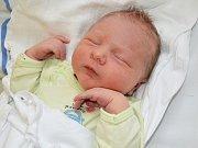 KRISTIÁN DOBRUSKÝ. Dvouletý Dalibor z Vidlaté Seče má od 6. listopadu brášku. Měřil 50 centimetrů a vážil 3,7 kilogramu.