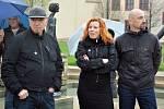 Michael Rittstein, Barbora Šlapetková a Lukáš Rittstein.