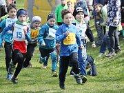 Prvomájové setkání běžců a běžkyň v Poličce.