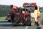 Smrtelná dopravní nehoda na silnici I/35 za Opatovem