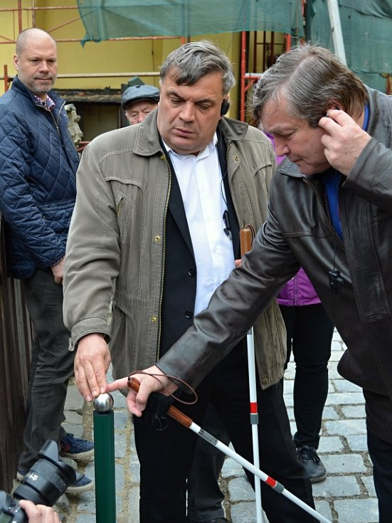 Svojanov je první hrad v České republice zpřístupněný handicapovaným.