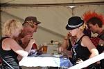 Punkeři se sjeli na Fest Pod Parou.