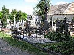 Hřbitov v Jevíčku.