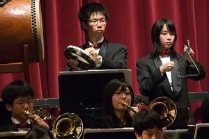 Japonský orchestr zahrál ve Smetanově domě.